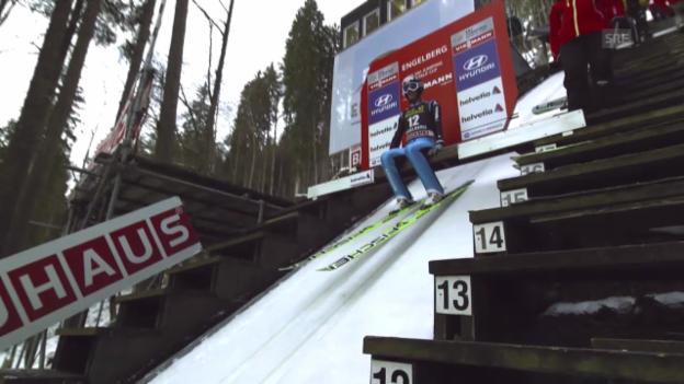 Video «2. Sprung Pascal Kälin («sportlive», 21.12.13)» abspielen