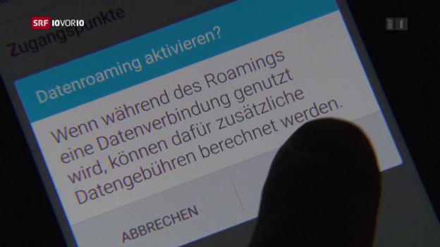 Video «Die Schweizer zahlen nach wie vor drauf» abspielen
