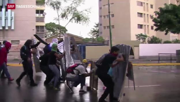 Video «Nicolàs Maduro unter Druck» abspielen
