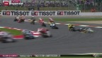 Video «Motorradsport: Aegerter stürzt bei Überholversuch» abspielen