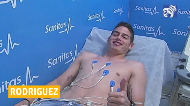 Video «Fussball: Real Madrid verpflichtet James Rodriguez («sportaktuell»)» abspielen