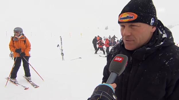 Video «Didier Cuche über die Ski-Jungtalente» abspielen