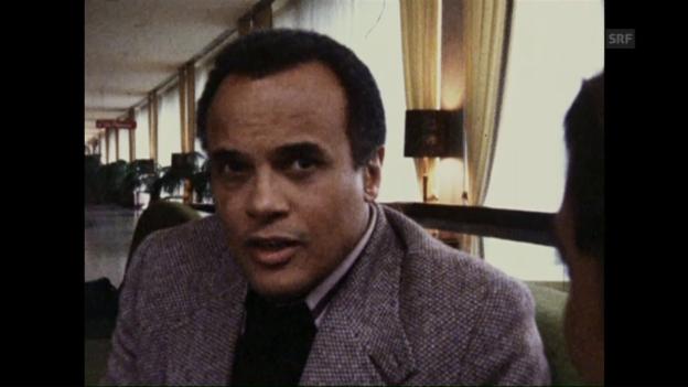 Video «Harry Belafonte über sein Engagement («Karussel» vom 31.10.1979)» abspielen