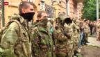 Video «Ukraine: Rechtsextreme fordern Regierung heraus» abspielen