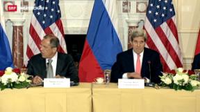 Video «Gespräche zwischen den USA und Russland» abspielen