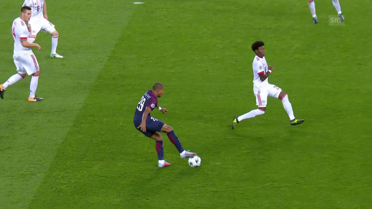 Mbappé streichelt, Neymar trifft