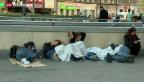 Video «Kein Weiterkommen am Budapester Ostbahnhof» abspielen