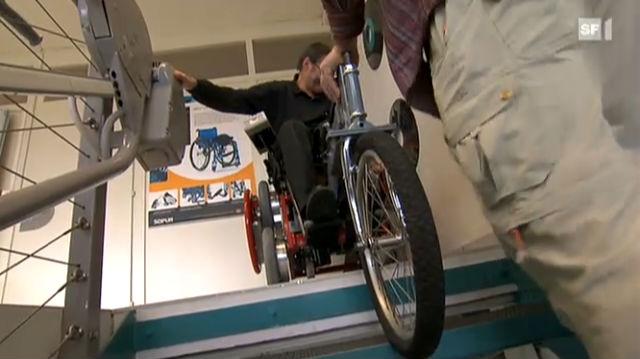 «Multidrive» - Berner Tüftler wollen den Rollstuhl geländegängiger machen