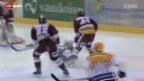 Video «Eishockey: Genf - Bern» abspielen