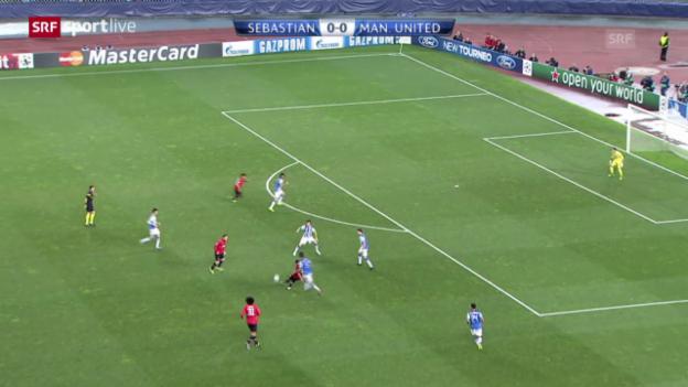 Video «CL: San Sebastian - Manchester United («sportlive»)» abspielen
