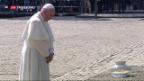 Video «Papst besucht Konzentrationslager» abspielen