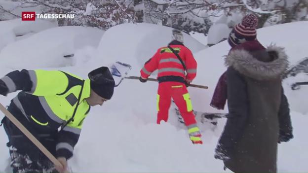 Video «Neue Not in Italiens Erdbebengebiet» abspielen