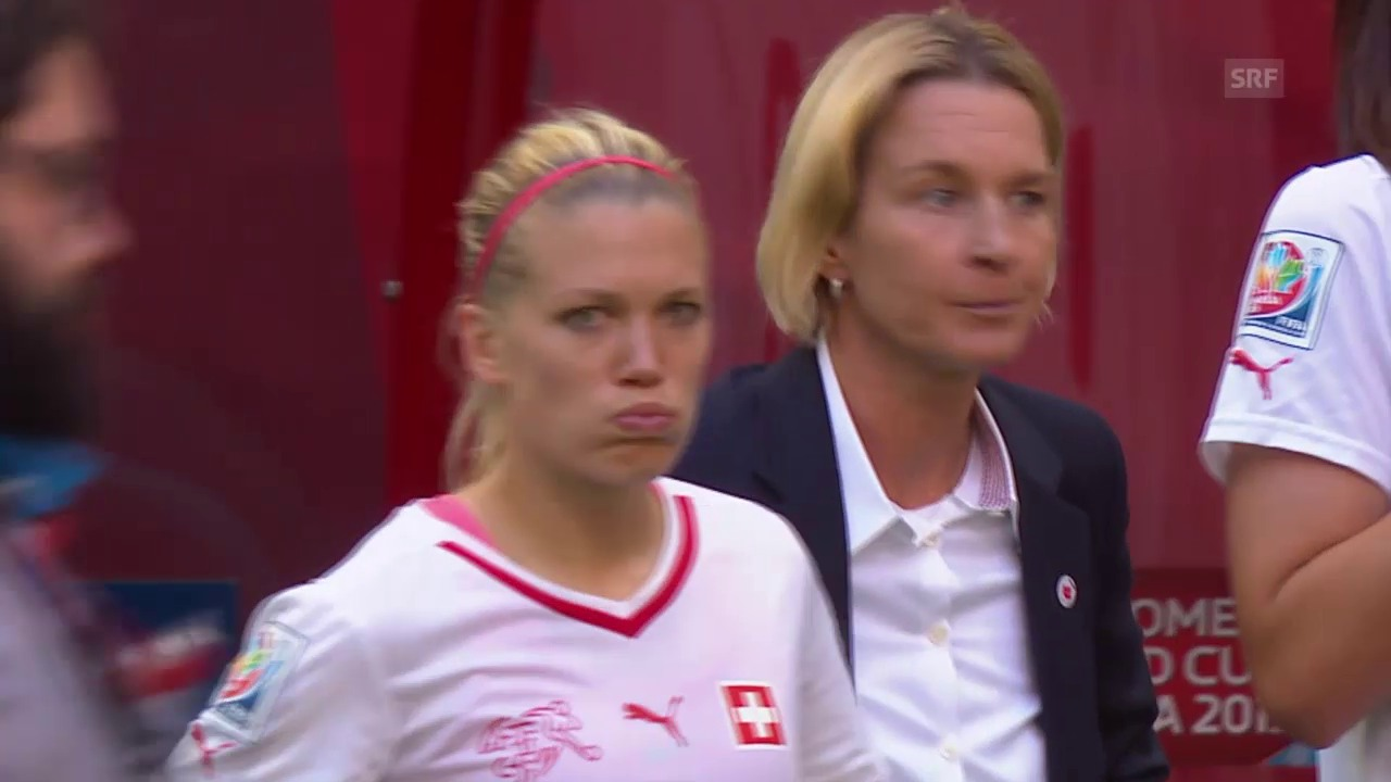 Fussball: Frauen-WM in Kanada, Achtelfinal, Zusammenfassung Schweiz - Kanada