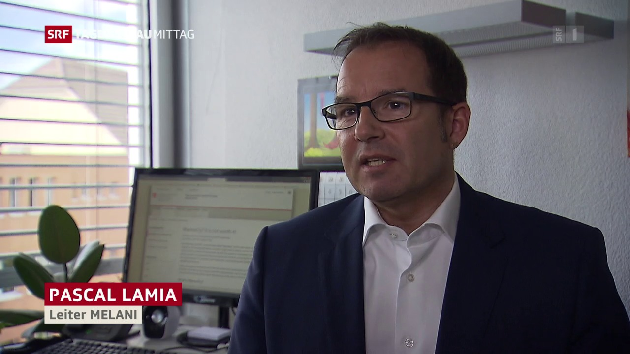 Pascal Lamia, Leiter Melani, zur Erpresser-Software