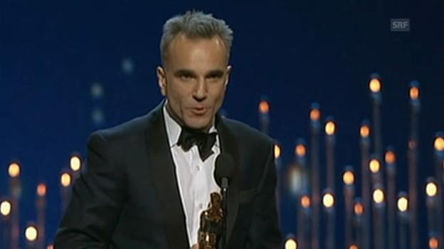 Video «Oscar-Rede von Daniel Day-Lewis (beste Hauptrolle)» abspielen