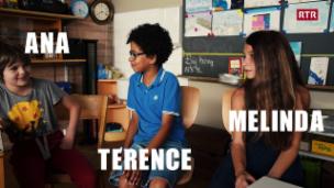 Laschar ir video «Ana, Terence e Melinda»