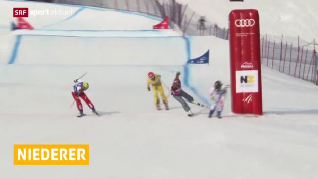 Video «Skicrosser Armin Niederer zurück auf dem Podest» abspielen