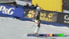 Video «Ski Alpin: Riesenslalom Aspen, 1. Lauf Brem» abspielen