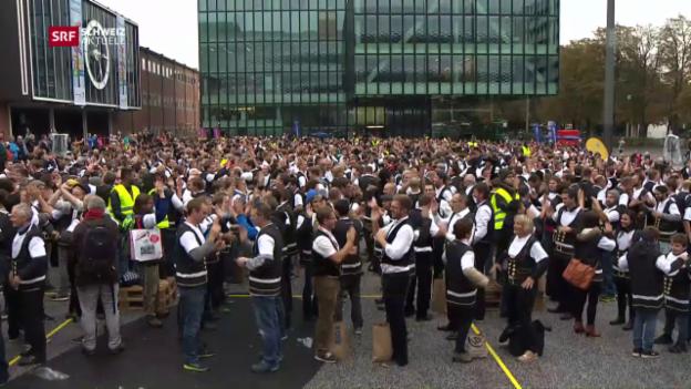 Video «Klatschend zum Weltrekord?» abspielen