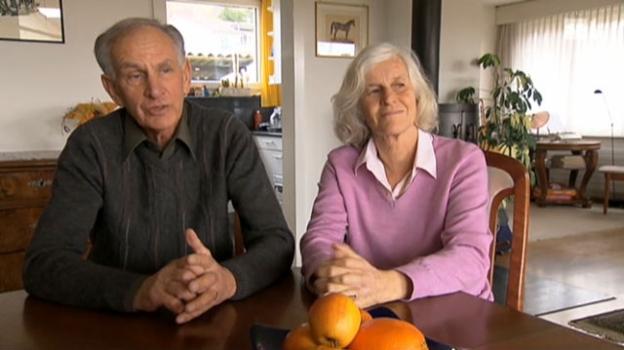 Video ««Alzheimer hautnah» (3) - Karl Baumann stösst an seine Grenzen» abspielen