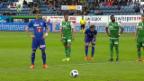 Video «Luzern schlägt St. Gallen mit 3:1» abspielen
