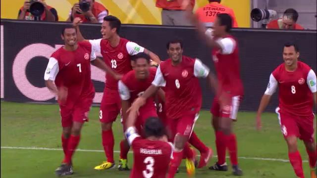 Tahitis erstes Tor in einem FIFA-Wettbewerb