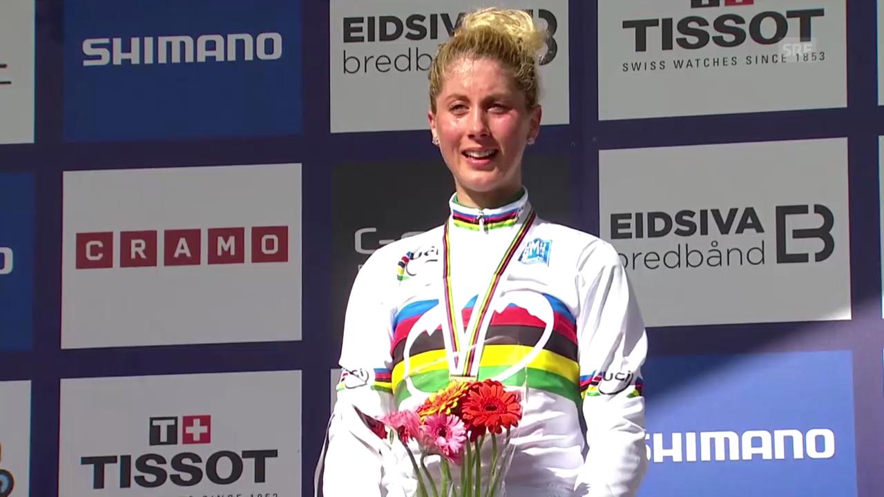 Mountainbike-WM: Zusammenfassung U23-Rennen Frauen