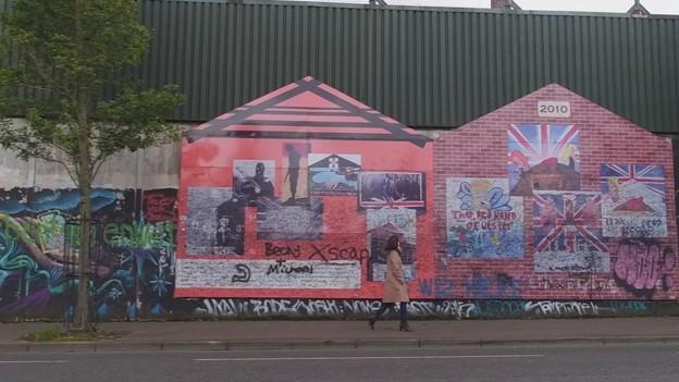 Belfast: Mauern für den Frieden