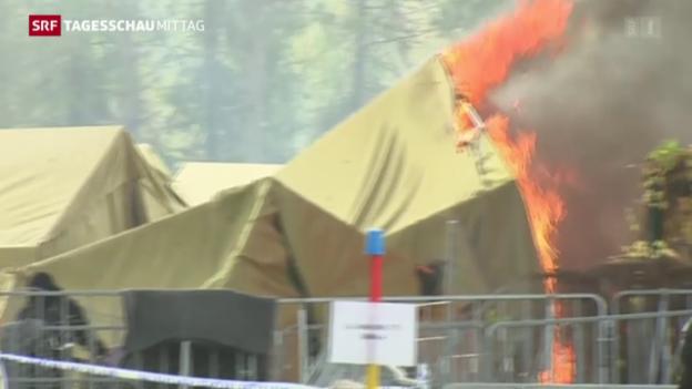 Video «EU-Spitzentreffen zur Balkan-Flüchtlingsroute» abspielen