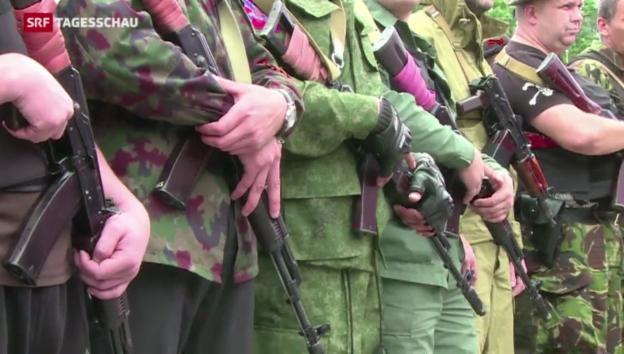 Video «Gefechte trotz Waffenruhe» abspielen