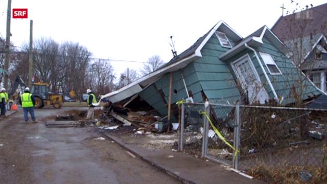 USA: Politischer Streit um Hilfsgelder für «Sandy»-Opfer