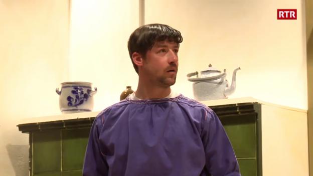 Laschar ir video «Teater a Müstair commemorescha Tista Murk»
