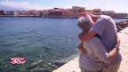 Video «Das Wiedersehen von Annamaria und Dimitris» abspielen