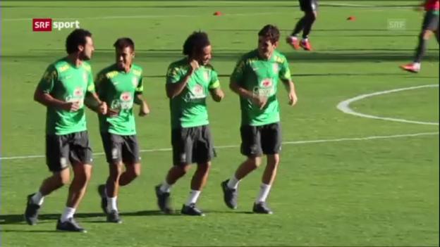 Video «Vor Brasilien-Uruguay» abspielen