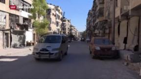 Video «Waffenruhe in Syrien hält» abspielen
