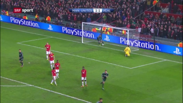 Video «CL: Spielbericht Manchester United - Real Madrid («sportaktuell»)» abspielen