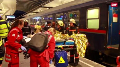 Link öffnet eine Lightbox. Video Zugunfall in Salzburg abspielen