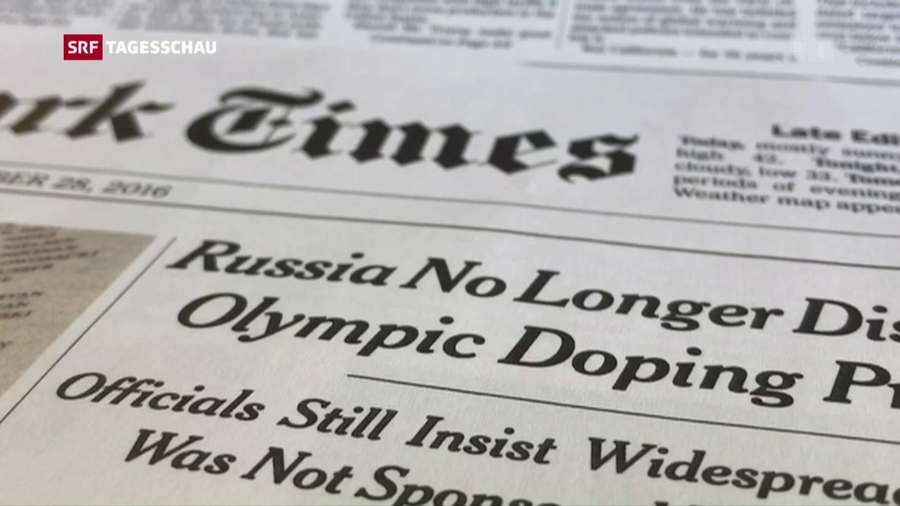 Russisches Doping-Geständnis mit Dementi