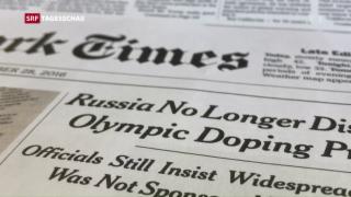 Video «Russisches Doping-Geständnis mit Dementi» abspielen