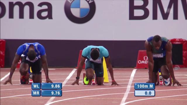 LA: 100m-Rennen Diamond League in Rom («sportlive»)