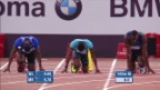 Video «LA: 100m-Rennen Diamond League in Rom («sportlive»)» abspielen