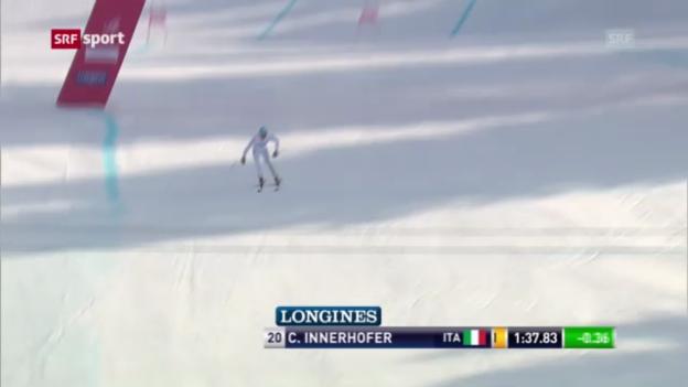 Video «Abfahrt Männer Garmisch «sportaktuell»» abspielen