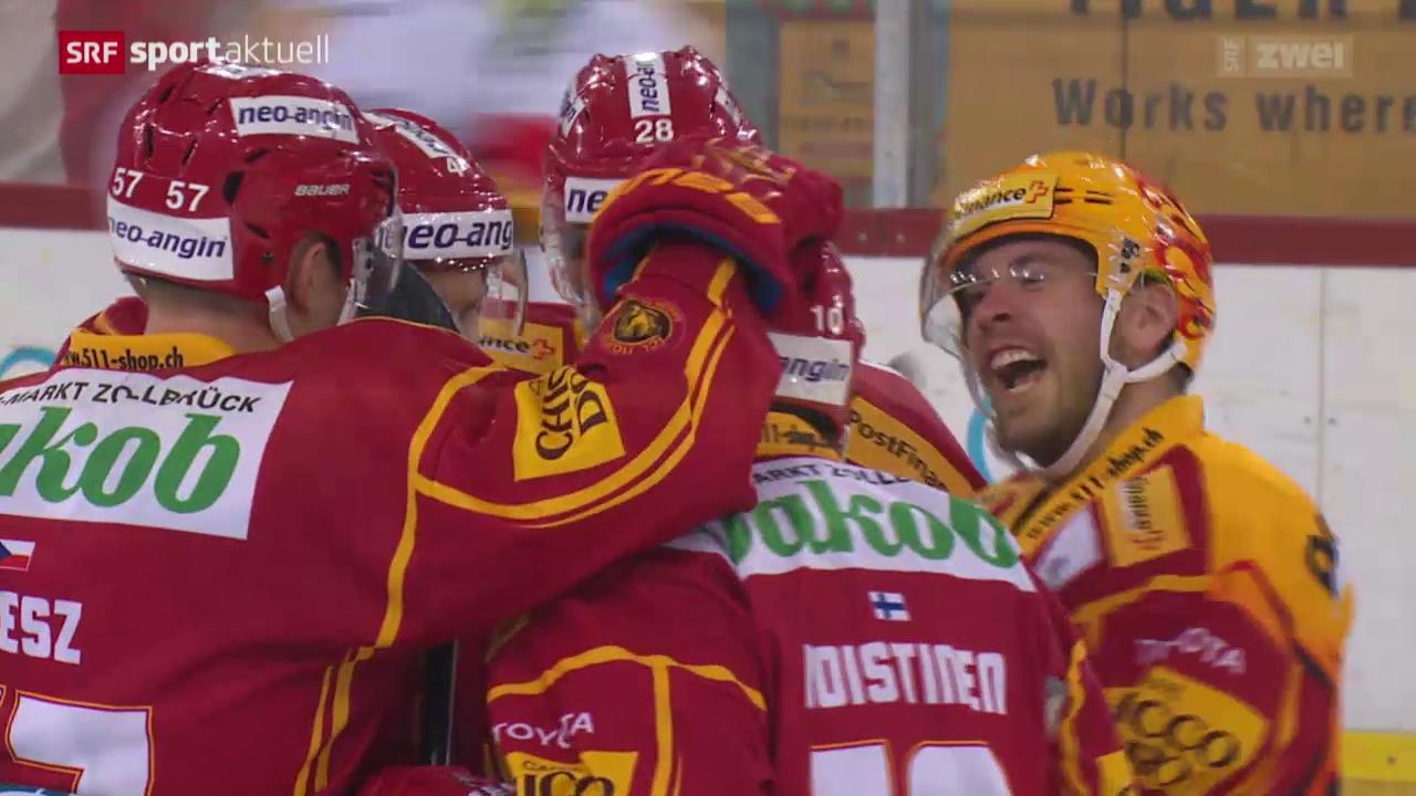 Eishockey: NLA, SCL Tigers-Biel