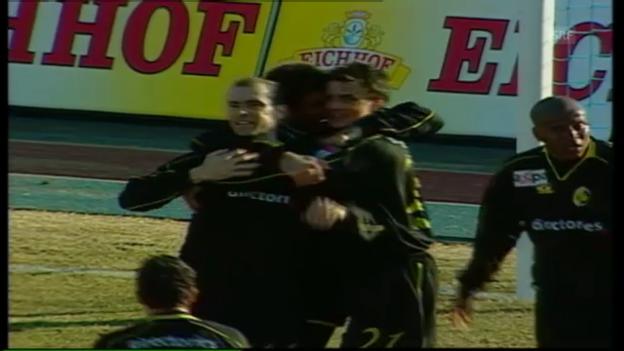 Video «Rochats letzter Treffer im YB-Dress (13.03.2005)» abspielen