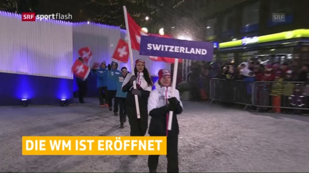 Video «Die Eröffnungsfeier in Lahti» abspielen