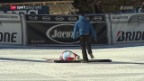 Video «Guts Sturz schockt die Ski-Schweiz» abspielen