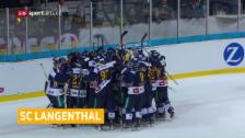 Video «Langenthal schafft den Cup-Coup» abspielen