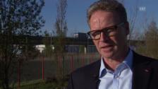 Video «Andreas Meyer, SBB, über den Stellenwert des Güterverkehrs» abspielen