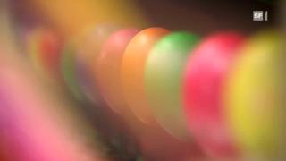 So werden Eier maschinell gefärbt