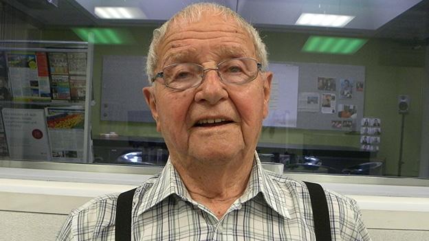 Bruder John Burkart erzählt aus seinem Leben